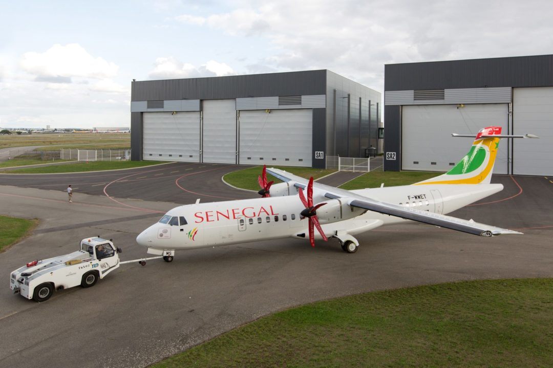 Premier ATR72-600 Air Sénégal
