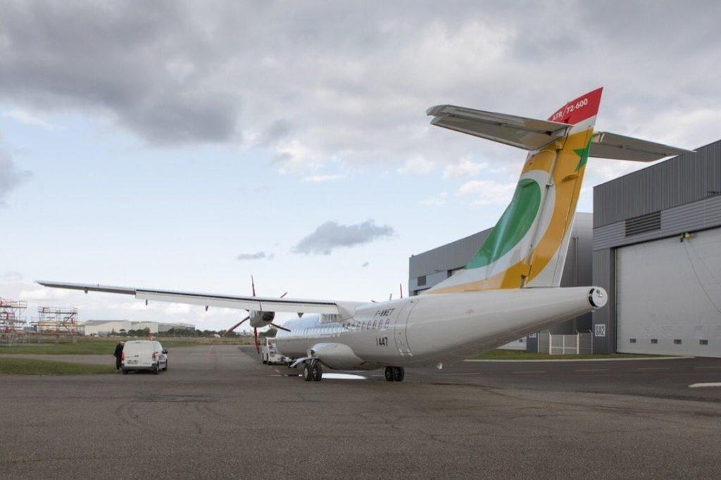 Premier ATR72-600 Air Sénégal