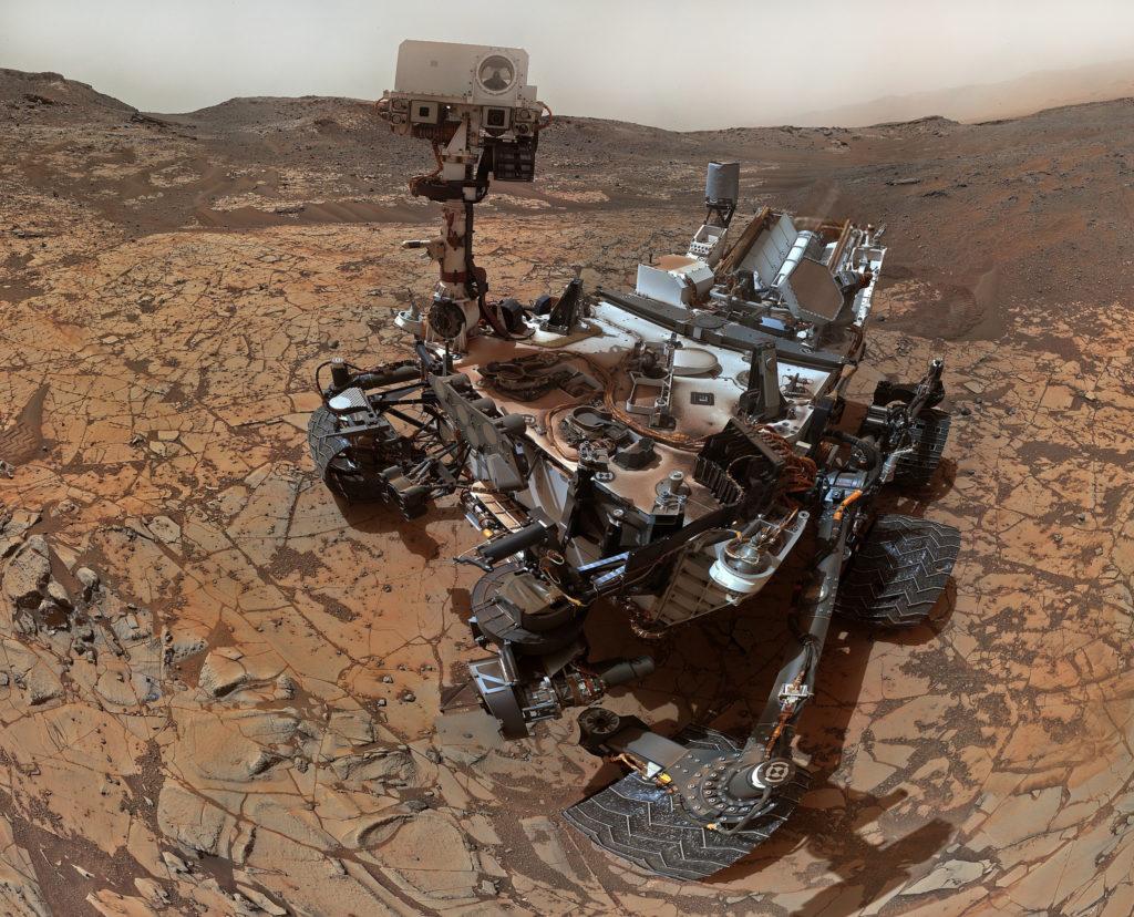 Autoportrait du rover Curiosity depuis Mars [sol 868]