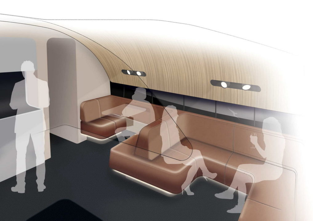 nouveau salon Business class Qantas