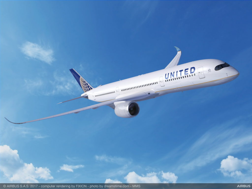A350-900 United