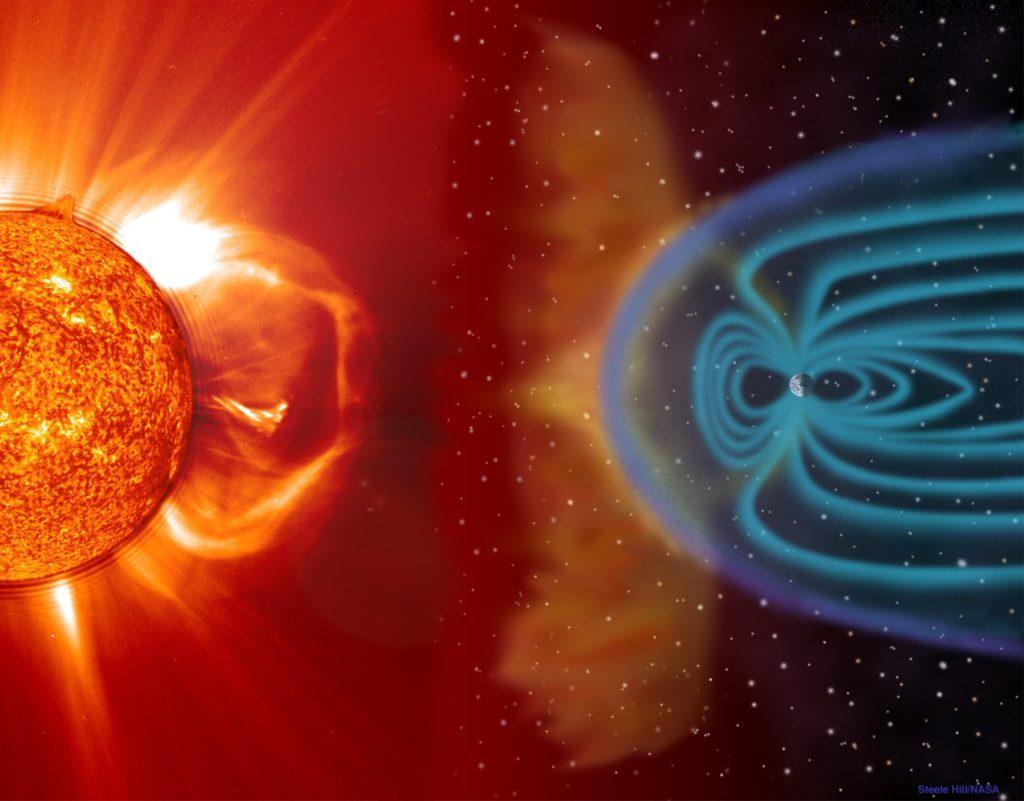 La mission SMILE pour étudier l'interaction entre la magnétosphère, le bouclier protecteur de la Terre, et le vent solaire supersonique