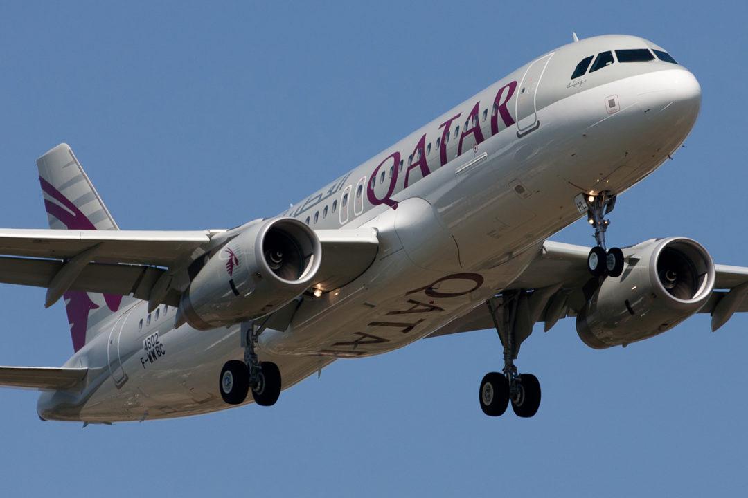Qatar Airways Airbus A320-232
