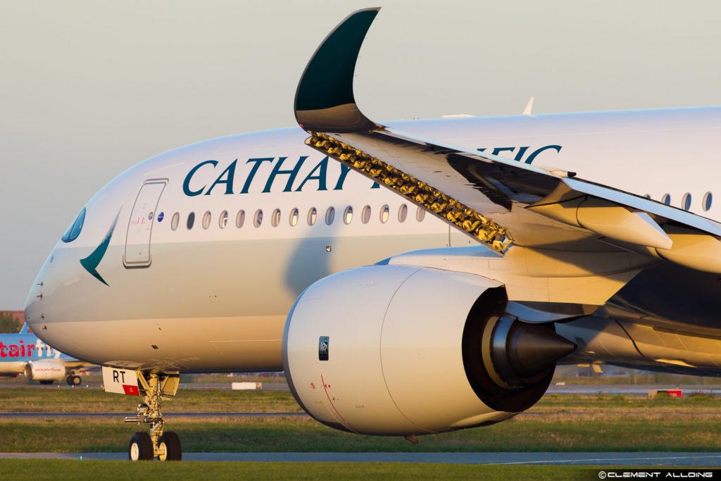 Cathay Pacific Airbus A350-941 cn 137 B-LRT