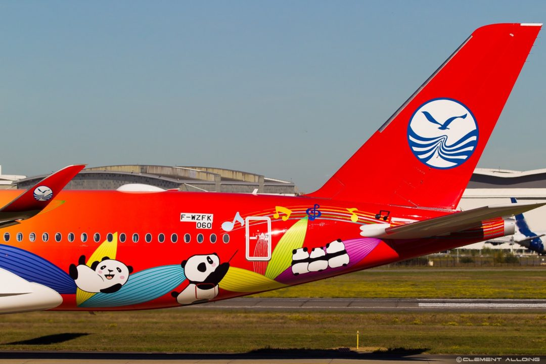 Sichuan Airlines Airbus A350-941 cn 060 F-WZFK