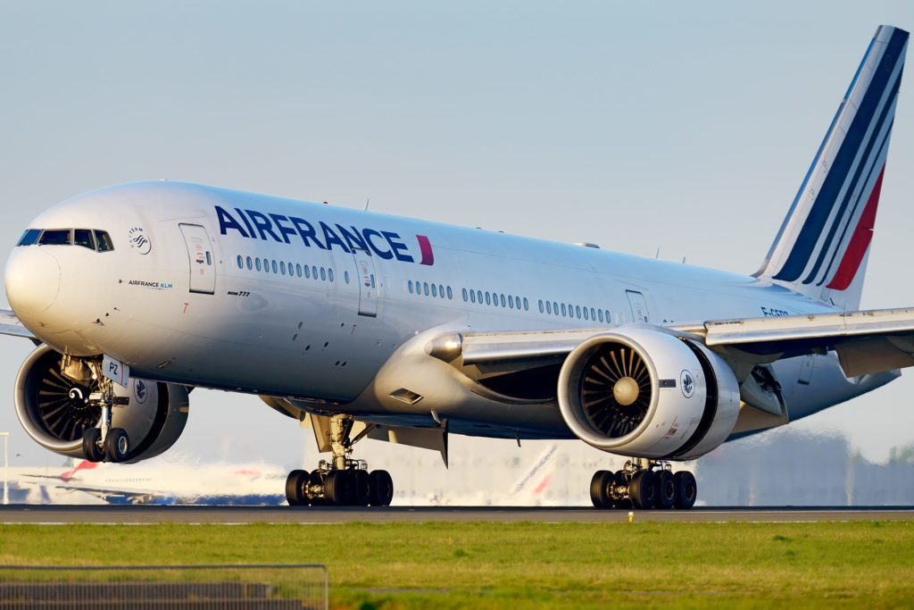 Boeing 777-200 Air France à Paris
