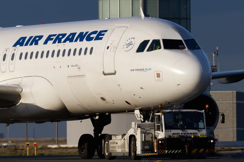 Airbus A320ceo F-HEXJ Air France