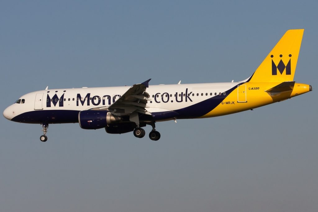 Monarch Airbus A320-232