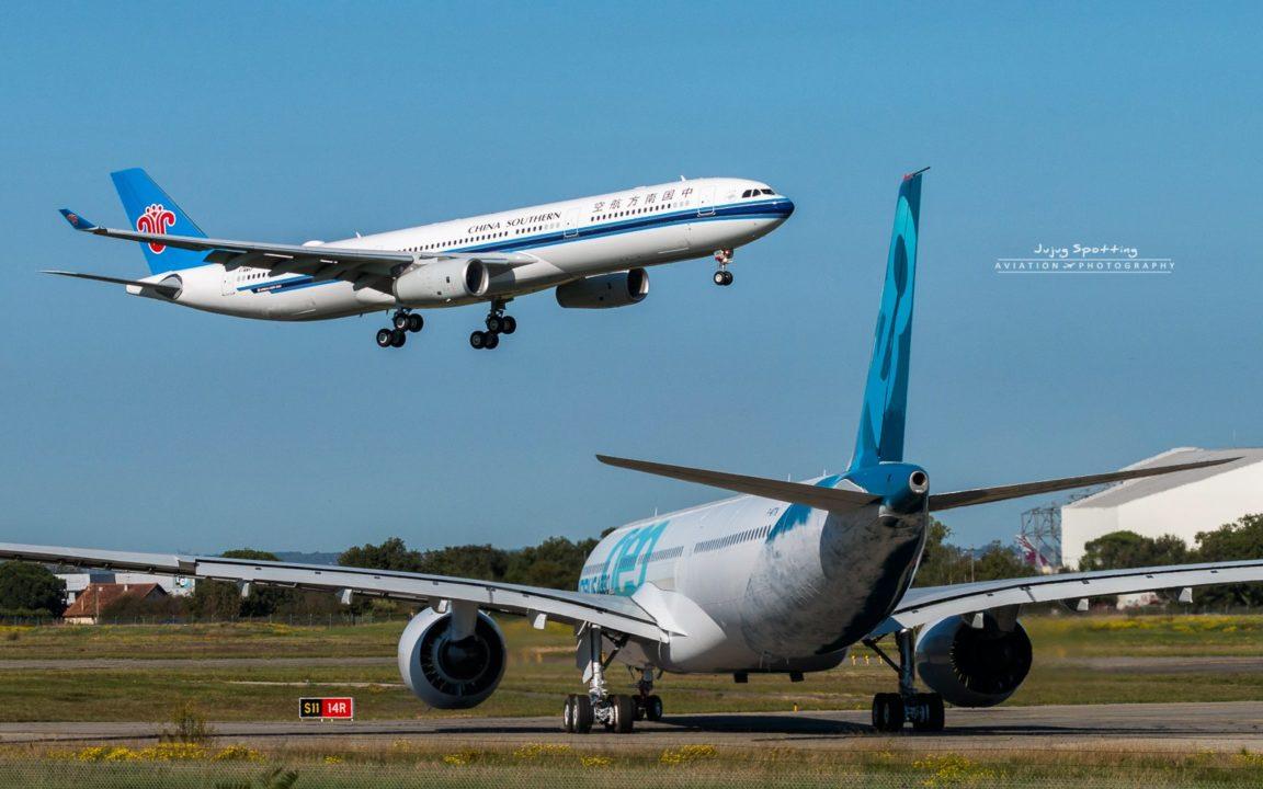1er Airbus A330-900 avant son RTO