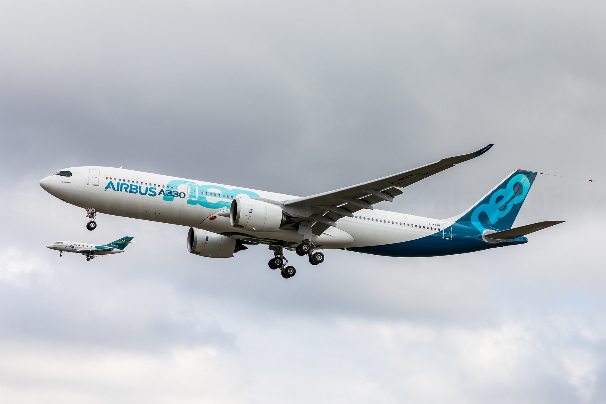 Retour du 1er vol et 1er atterrissage pour l'Airbus A330-900