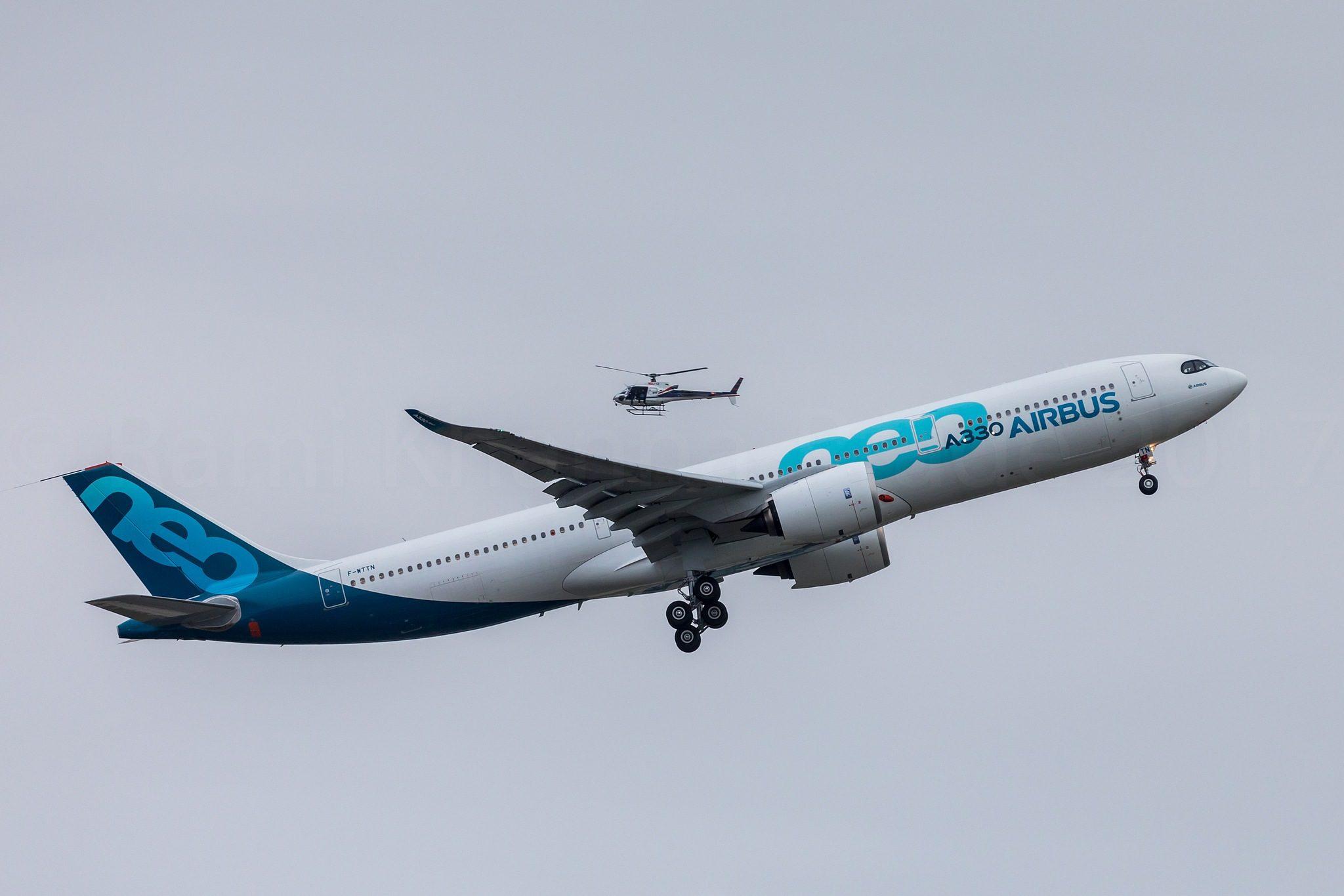 Premier vol Airbus A330-900