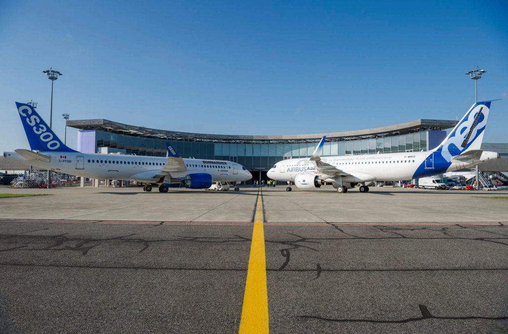 Adieux Bombardier CSeries, bonjour Airbus A220