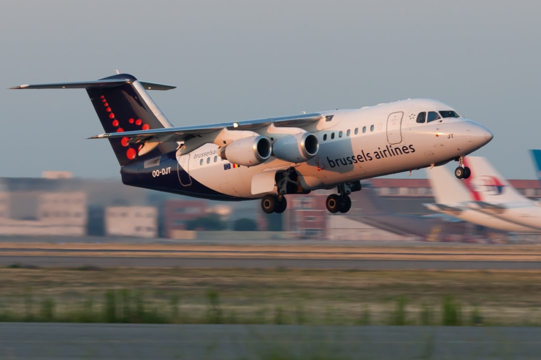 Brussels Airlines BAE Systems Avro 146-RJ100