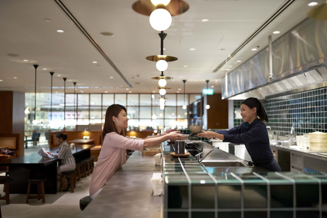 « Noodle Bar » de Cathay Pacific