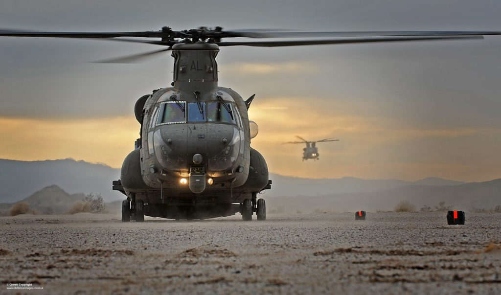 Chinook Helicopteres