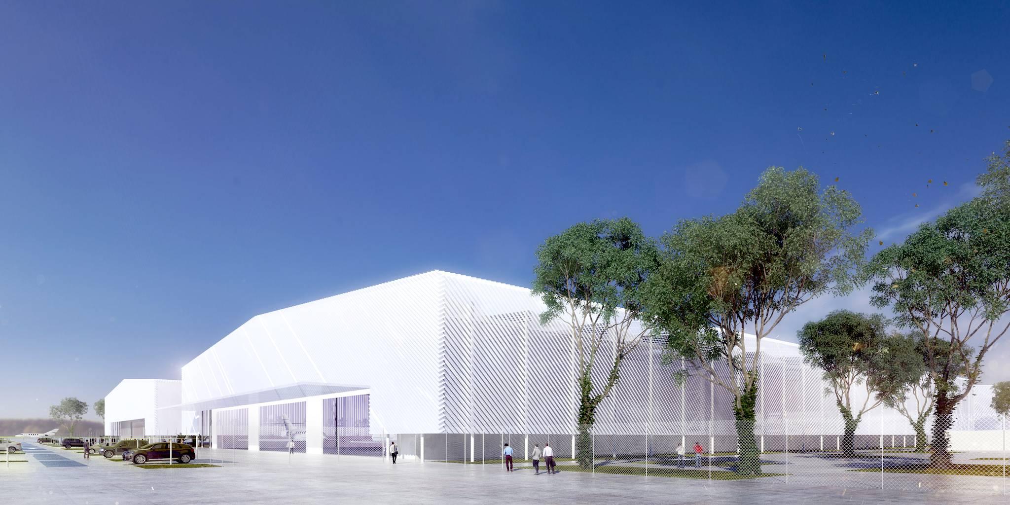 l'usine de fabrication de Dassault Reliance Aerospace Limited [DRAL] sur le site de Mihan