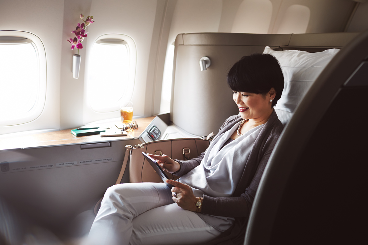 Première classe Cathay Pacific