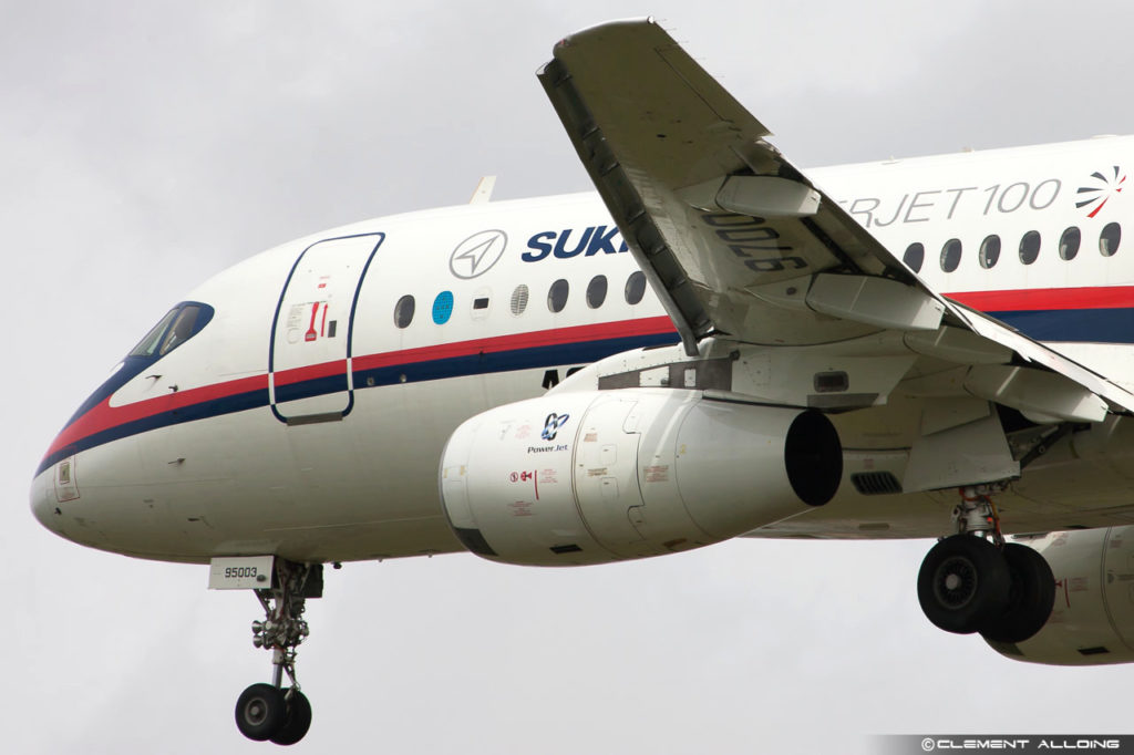 Sukhoi Superjet 100-95 cn 95003 RA-97003