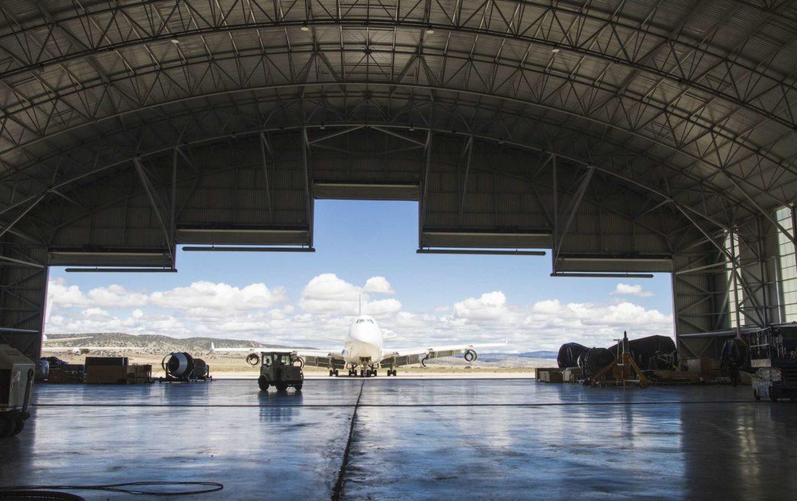 Hangar gros porteurs à Teruel