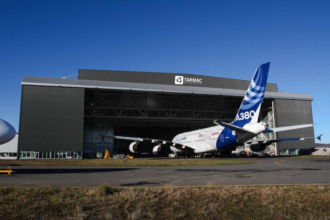 Hangar gros porteurs à Tarbes