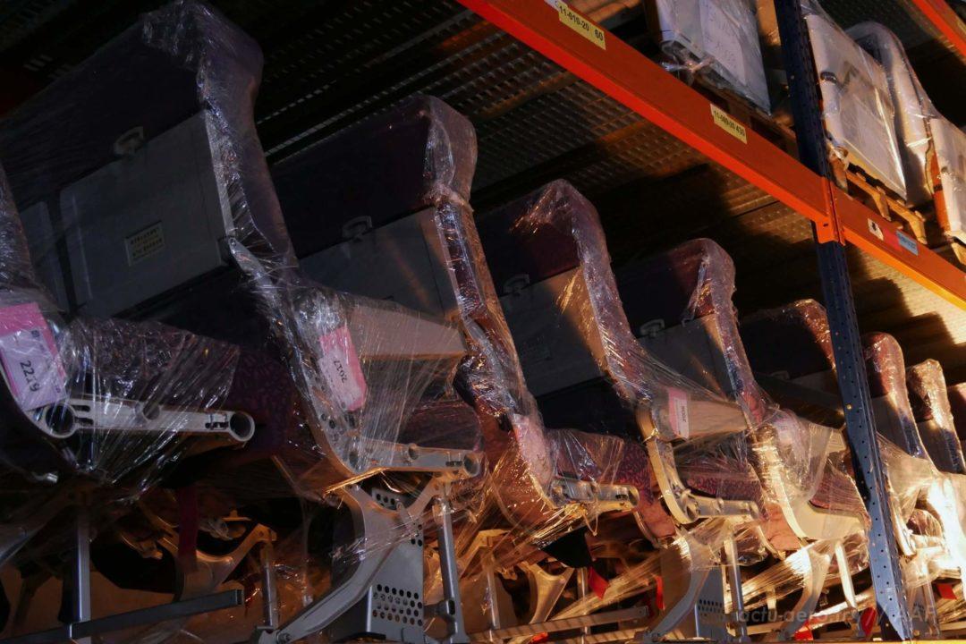 stockage de sièges d'occasions à Tarbes