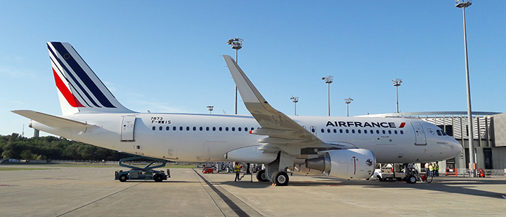 Airbus A320ceo F-HEPJ Air France