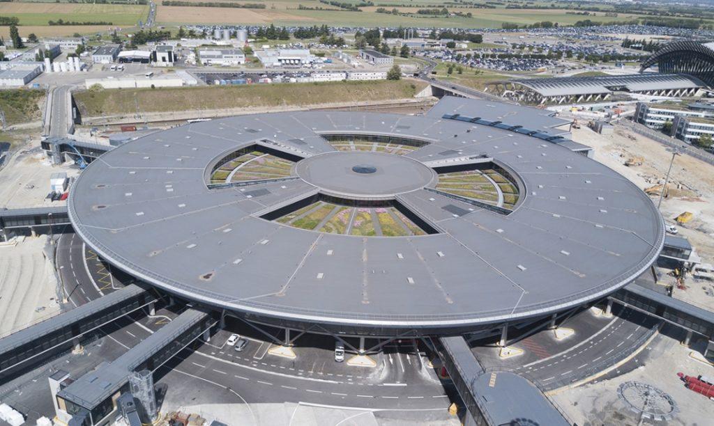 terminal1 aéroport de Lyon Saint-Exupéry