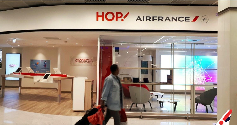 Hop Air France Inaugure Un Nouvel Espace De Vente A Orly Ouest Aaf Actu Aero Fr