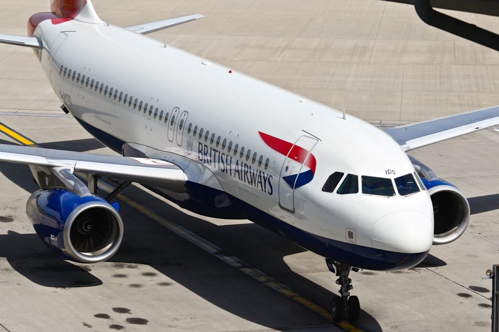 G-MIDO A320 British Airways