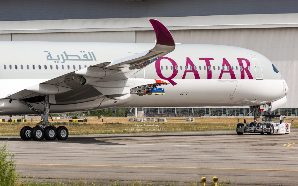 1er Airbus A350-1000 Qatar Airways A7-ANA