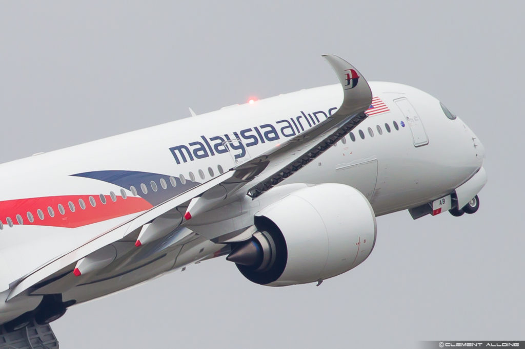 Malaysia Airlines Airbus A350-941 cn 159 F-WZFG // 9M-MAB