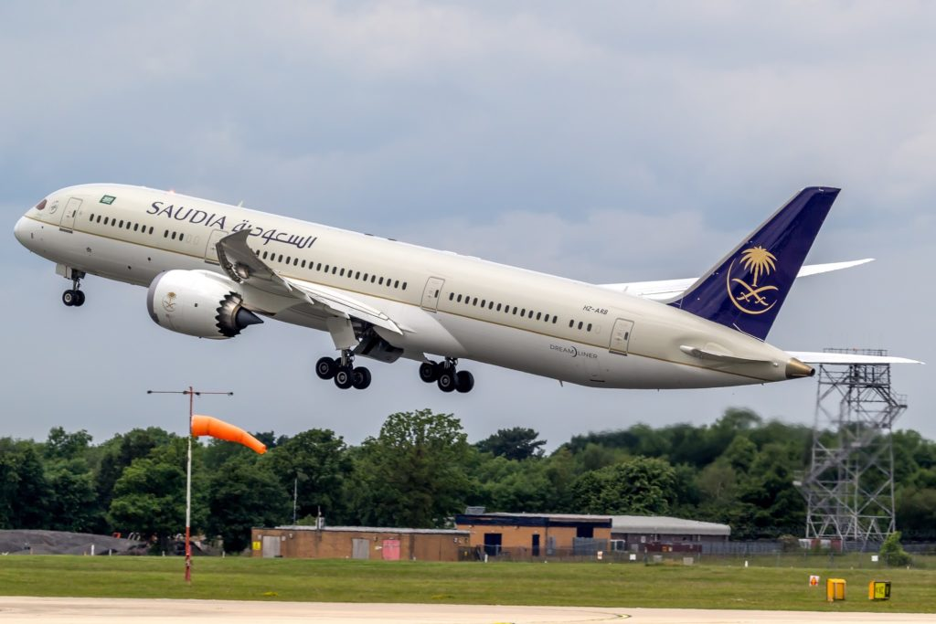 Saudi Airlines B787-9 HZ-ARB