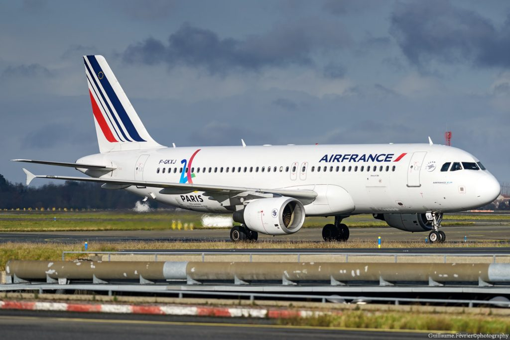 Air France A320 à Paris CDG