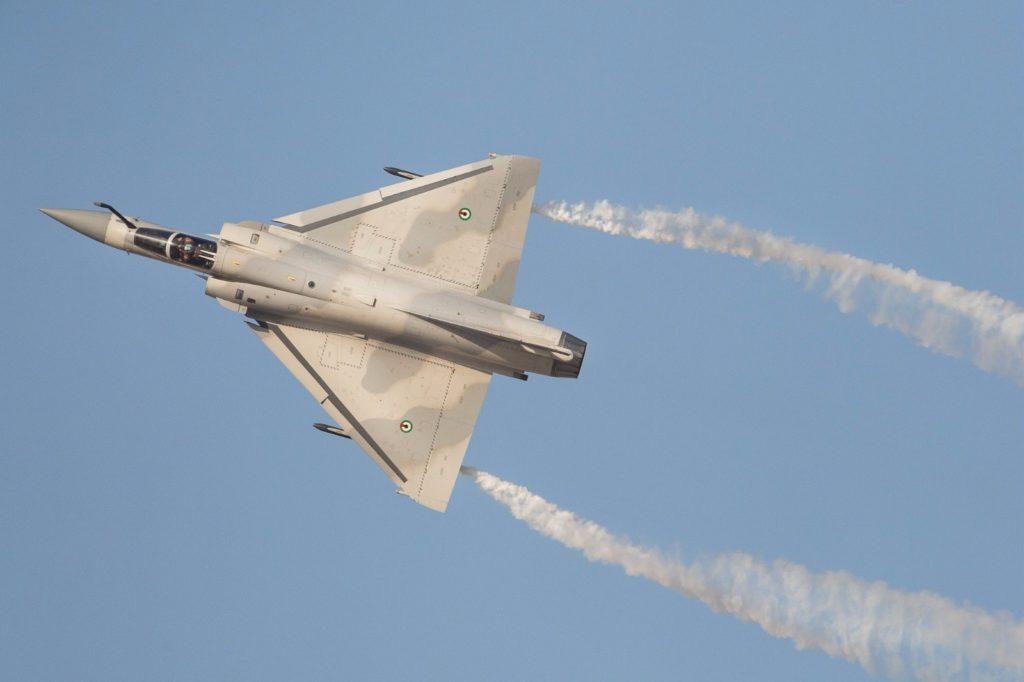 Mirage 2000-9 des Forces armées des Émirats Arabes Unis