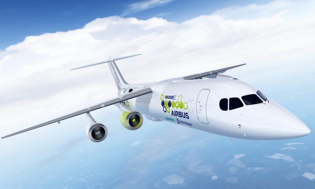 E-Fan X le démonstrateur de vol hybride