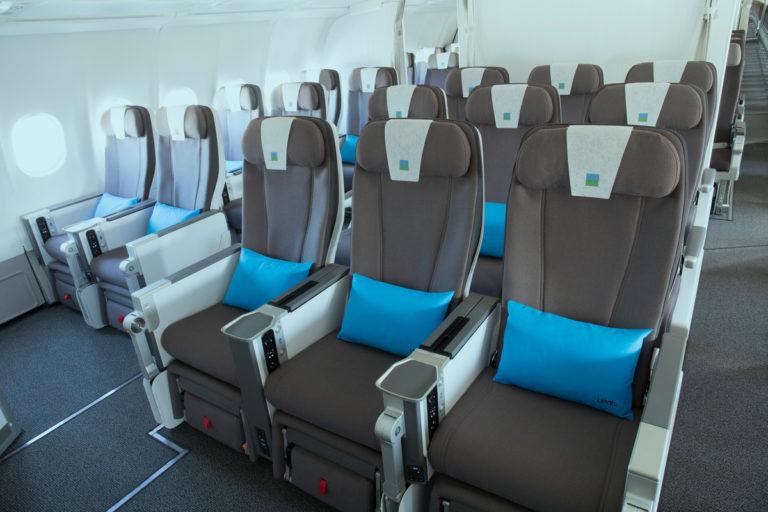 siège Premium Eco à bord des A330 Level