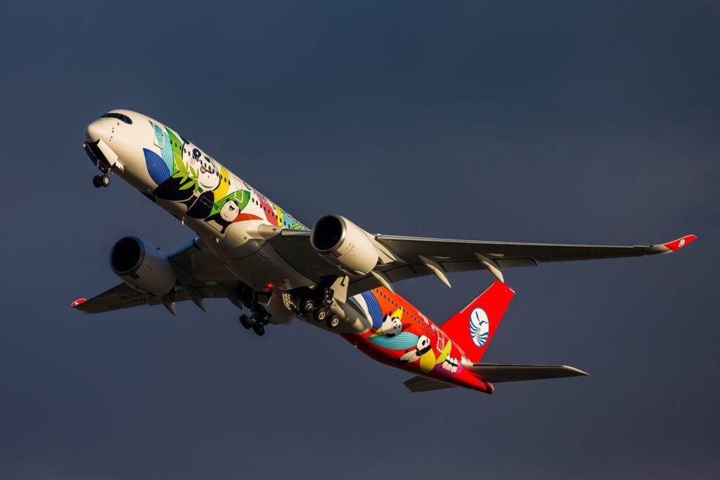 """1er A350-941 Sichuan Airlines livrée spéciale """"Panda"""" [F-WZFK / MSN 060] (c) Rami Khanna-Prade - Reproduction interdite"""