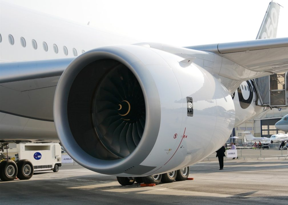 Cabine de l'Airbus A350-1041 cn 065 F-WLXV