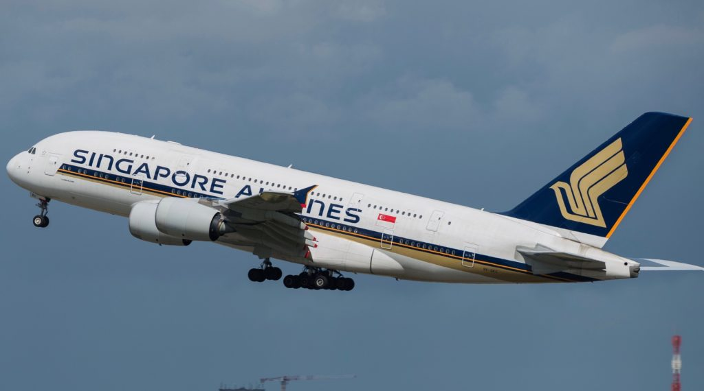 Airbus A380-841 Singapore Airlines 9V-SKC