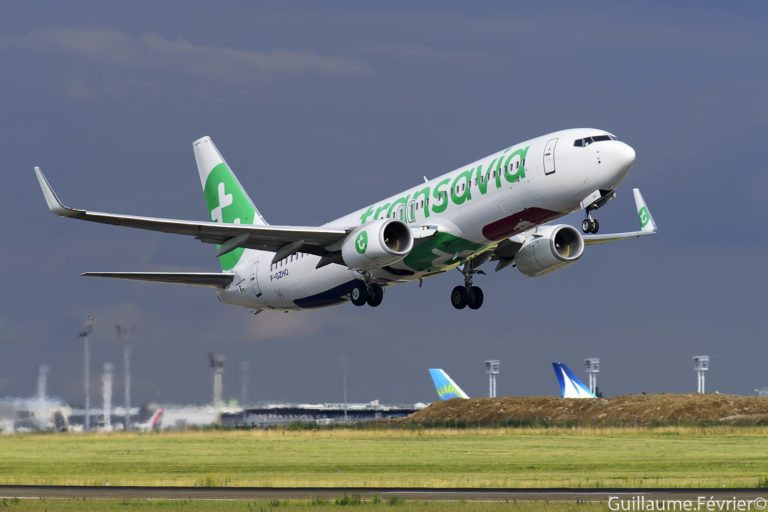 Boeing 737 au décollage d'Orly