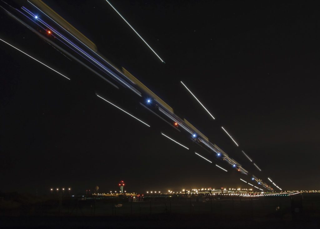 approche de nuit Barcelone