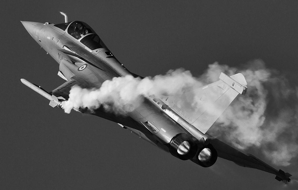 Dassault Rafale en démonstration