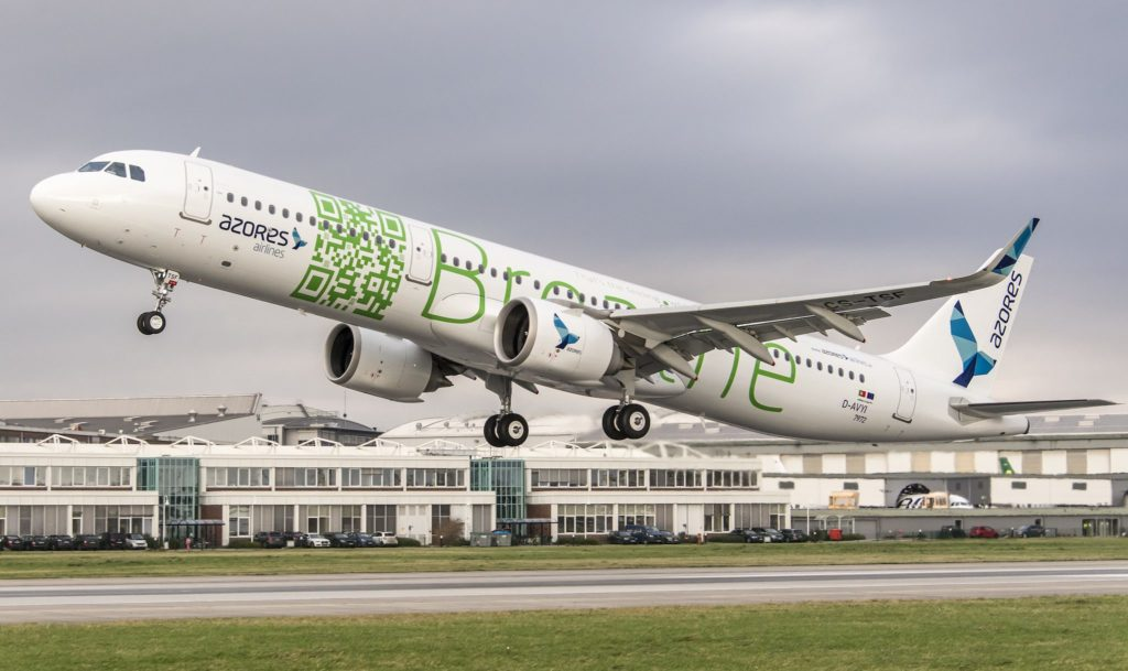 Airbus A321neo Azores Airlines