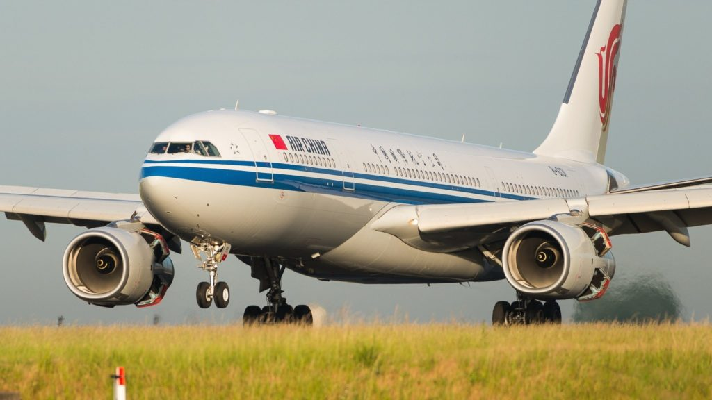 Airbus A330-243 Air China B-6131