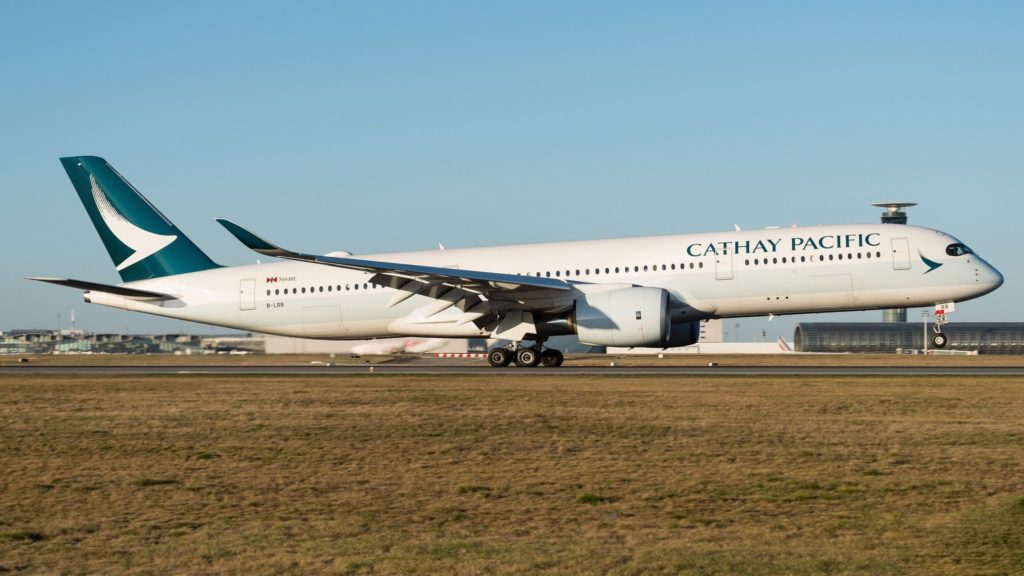 Airbus A350-941 Cathay Pacific B-LRB