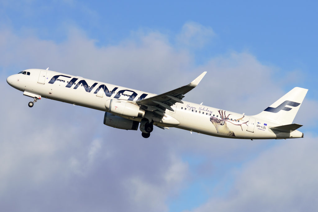 A321 Finnair Take Off