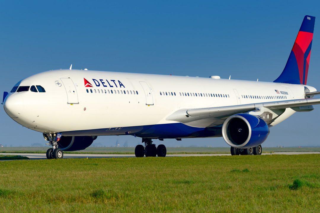 A330 Delta à Paris CDG