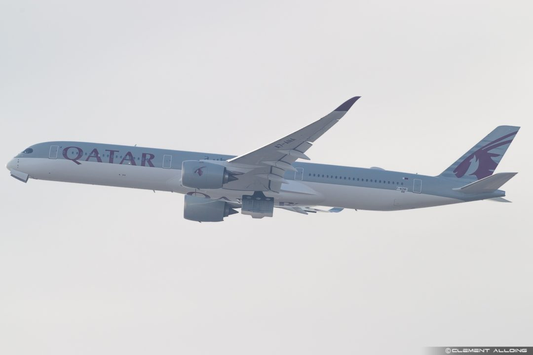 1st Airbus A350-1000 Qatar Airways A7-ANA