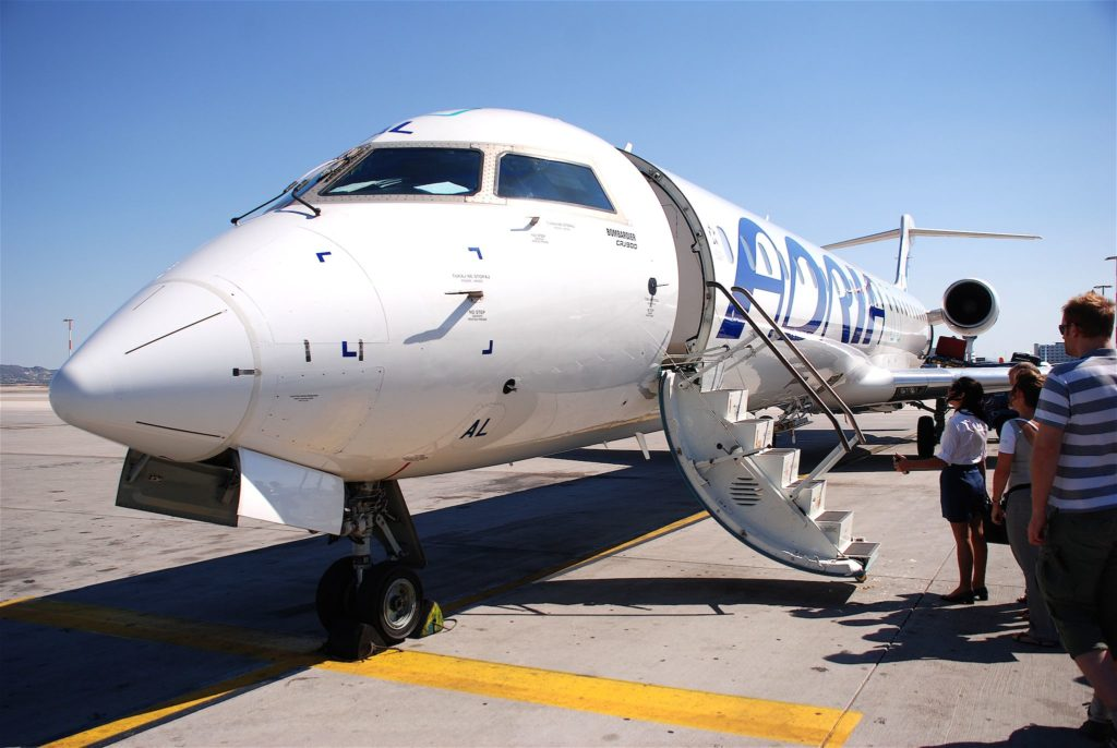 Adria Airways Canadair CRJ 900