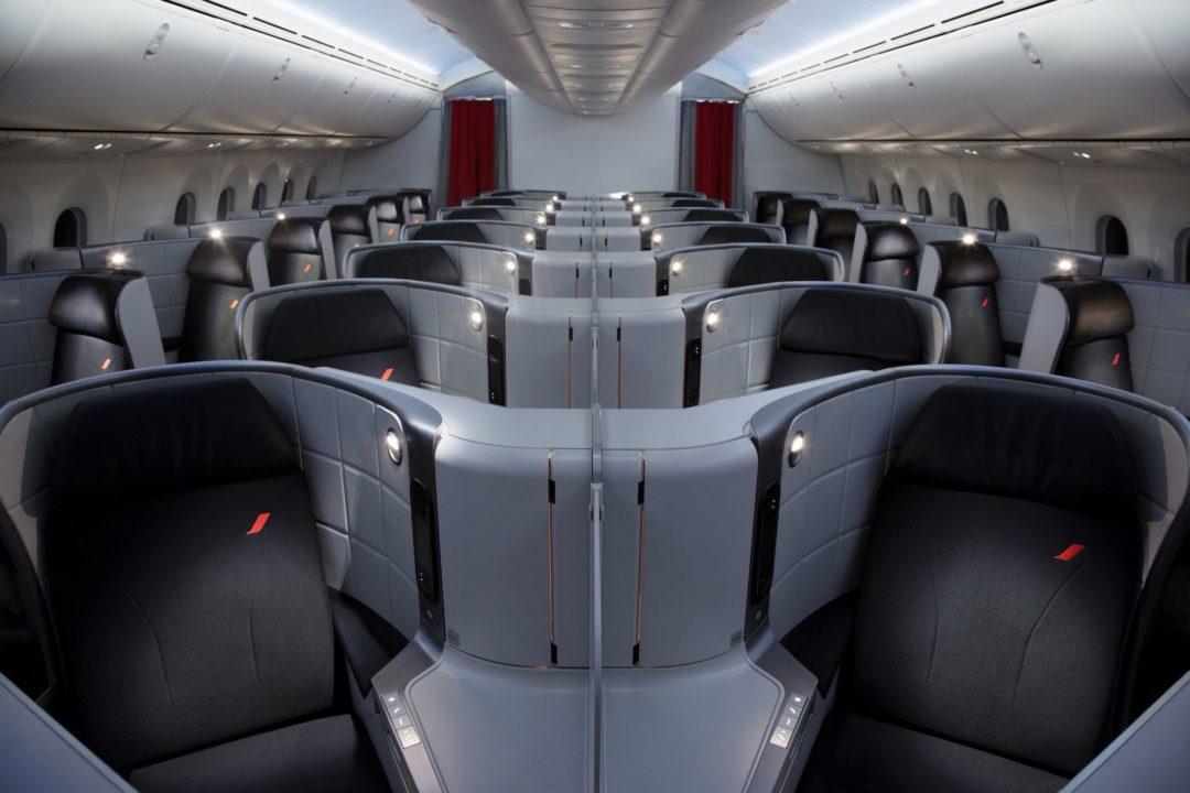 Siège Cirrus en cabine Best Business des 787 Air France